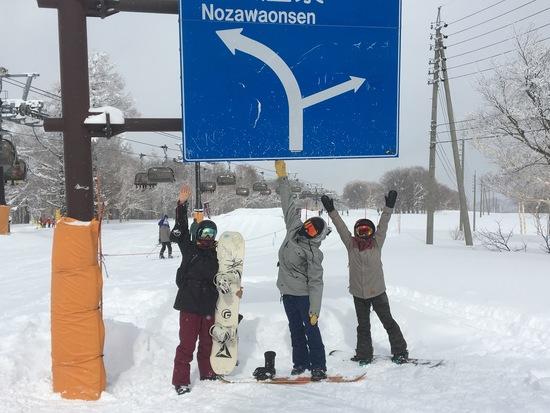 何度でも滑りに行きたい 野沢温泉スキー場のクチコミ画像
