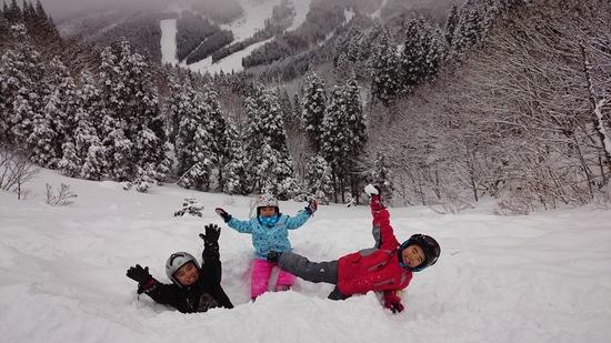 雪遊び楽しかった|スノーウェーブパーク白鳥高原のクチコミ画像