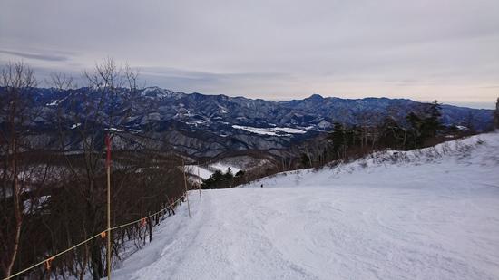 斜度が最高|オグナほたかスキー場のクチコミ画像