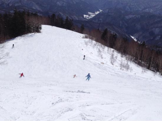 朝、寒かった|木曽福島スキー場のクチコミ画像