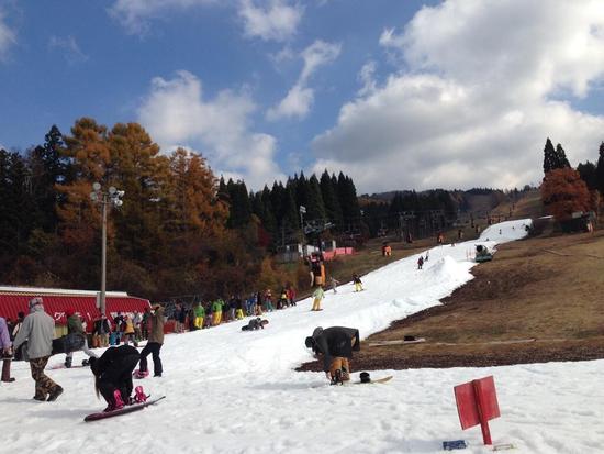 11月にしては良いです!|鷲ヶ岳スキー場のクチコミ画像