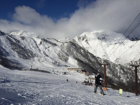 登山客が多かった(>_<)|谷川岳天神平スキー場のクチコミ画像