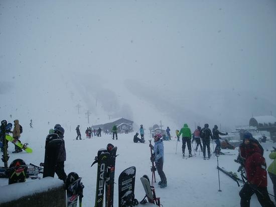 上部はパウダー|白馬八方尾根スキー場のクチコミ画像