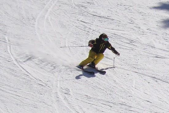 下半分はザラメ|信州松本 野麦峠スキー場のクチコミ画像