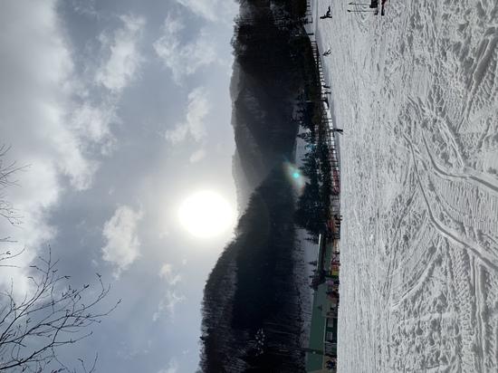 太陽がでかい!|ホワイトワールド尾瀬岩鞍のクチコミ画像