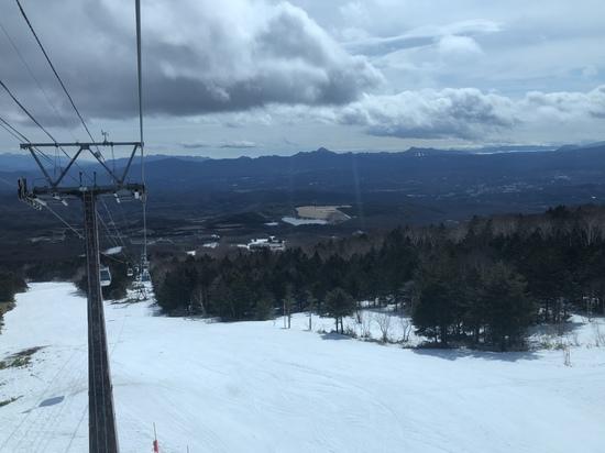 上からまだまだ滑れました!|パルコールつま恋スキーリゾートのクチコミ画像