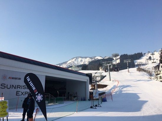 早朝だけ|石打丸山スキー場のクチコミ画像2