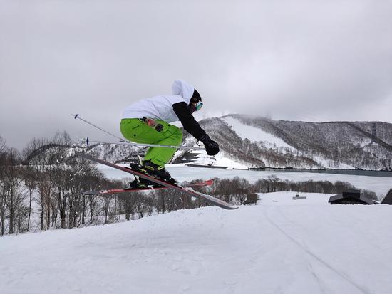 今年初スキー|かぐらスキー場のクチコミ画像