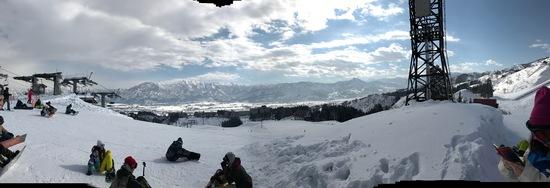 天気最高雪最高|上越国際スキー場のクチコミ画像