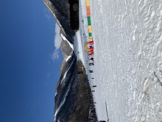雪不足|白馬コルチナスキー場のクチコミ画像