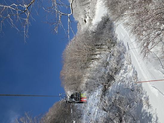 雪不足 白馬コルチナスキー場のクチコミ画像2