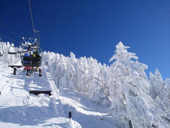 渋峠のリフトの終了時間に注意!!|志賀高原 熊の湯スキー場のクチコミ画像