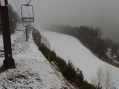 雨のち・・・|信州松本 野麦峠スキー場のクチコミ画像