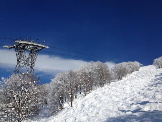 スキーに温泉いうことなし|六日町八海山スキー場のクチコミ画像