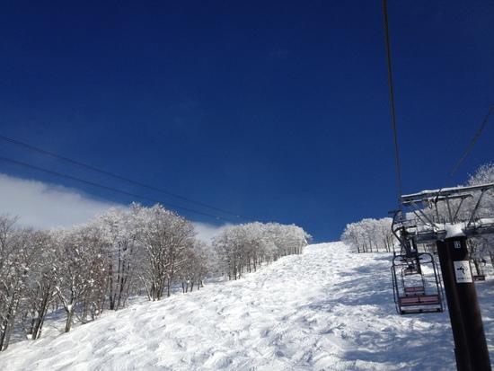 スキーに温泉いうことなし|六日町八海山スキー場のクチコミ画像2
