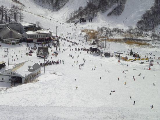雪は少なめですが|HAKUBAVALLEY 鹿島槍スキー場のクチコミ画像