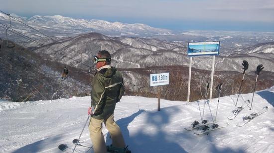 快晴!|斑尾高原スキー場のクチコミ画像