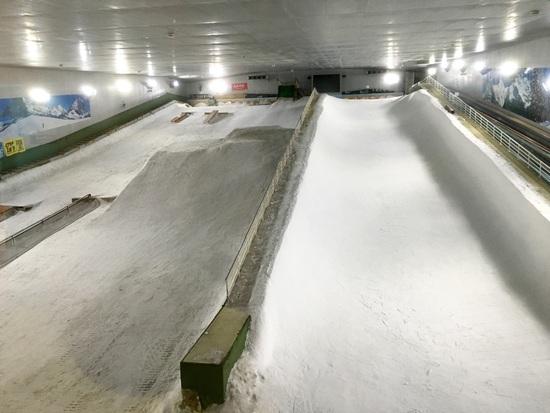 ゲレンデが明るくなった!|スノーヴァ新横浜のクチコミ画像