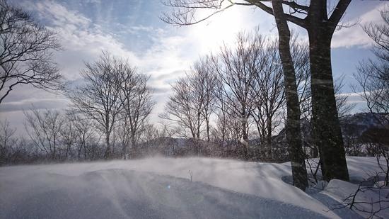 山頂は風が…|石打丸山スキー場のクチコミ画像