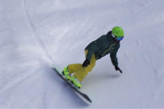 ややメルティな雪|信州松本 野麦峠スキー場のクチコミ画像