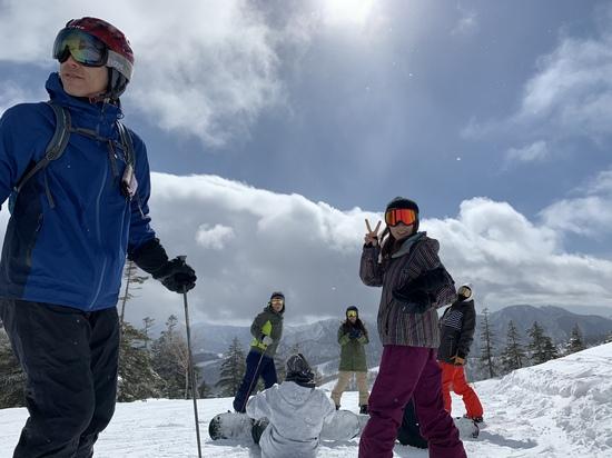 みんながいるから楽しいんだ|かぐらスキー場のクチコミ画像