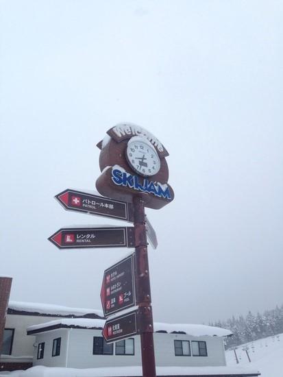 道路状況|スキージャム勝山のクチコミ画像