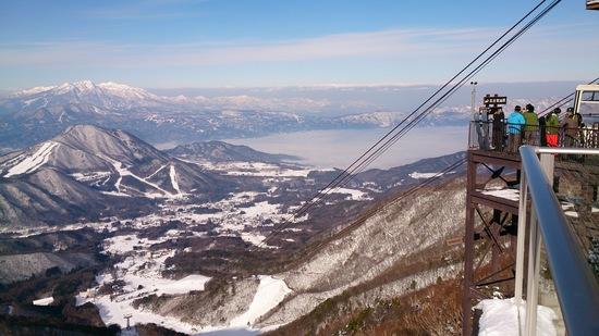 最高の晴天|竜王スキーパークのクチコミ画像