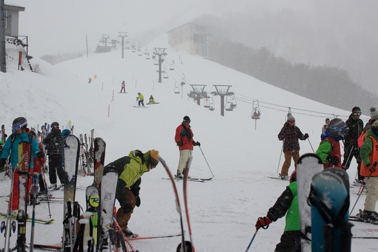 吹雪でも楽しめました 湯沢高原スキー場のクチコミ画像