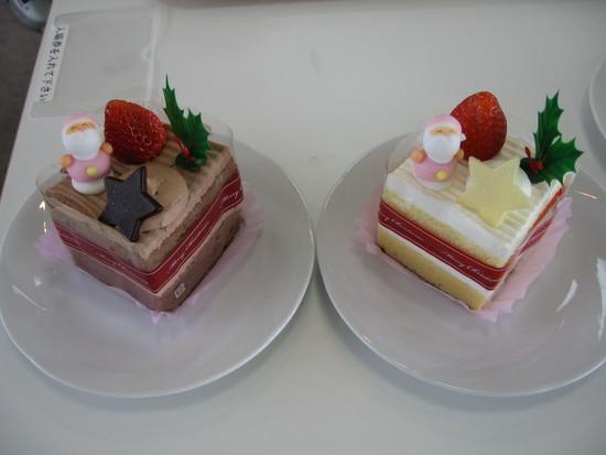 クリスマスのケーキが出ていました|シャトレーゼスキーリゾート八ケ岳のクチコミ画像