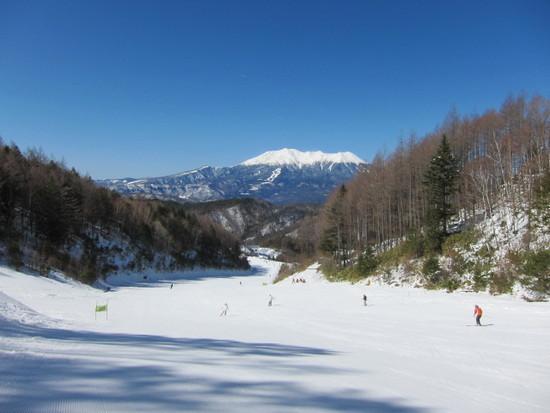 12/24の長野・木曽 きそふくしまスキー場の様子|木曽福島スキー場のクチコミ画像