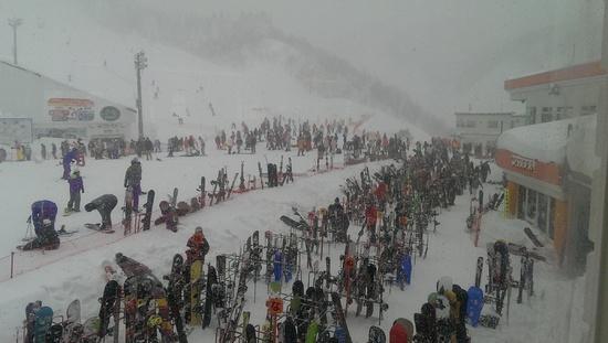 休憩中は復活アイテム(o・・o)v♪|GALA湯沢スキー場のクチコミ画像