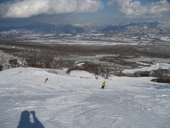 滑り放題でした。|サンメドウズ清里スキー場のクチコミ画像