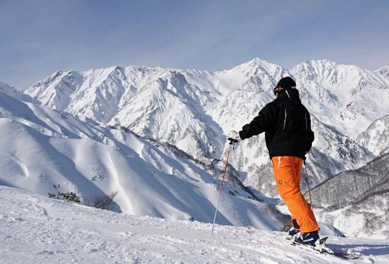 素晴らしい八方尾根|白馬八方尾根スキー場のクチコミ画像