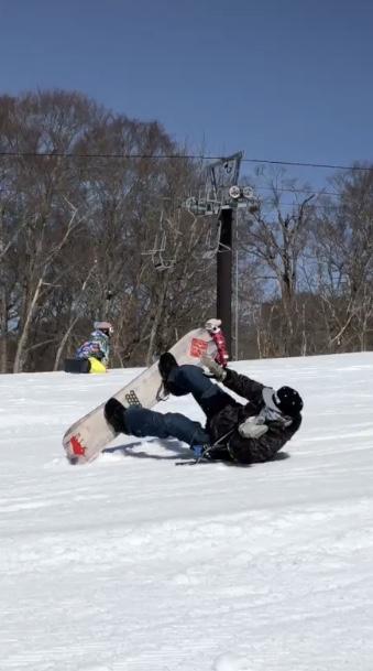 痛い!|たんばらスキーパークのクチコミ画像