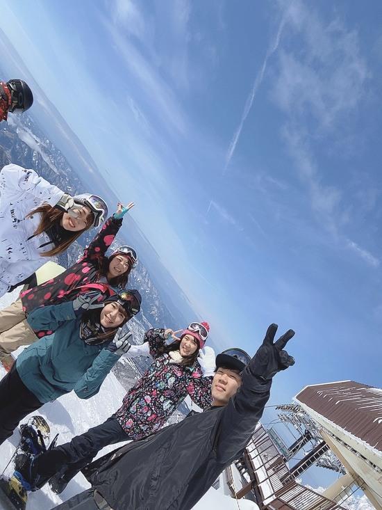 シーズン初ボード!!!|スキージャム勝山のクチコミ画像