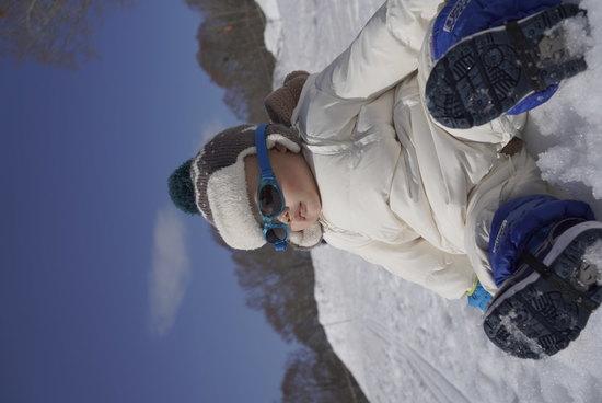 僕も早く滑りたいな たんばらスキーパークのクチコミ画像