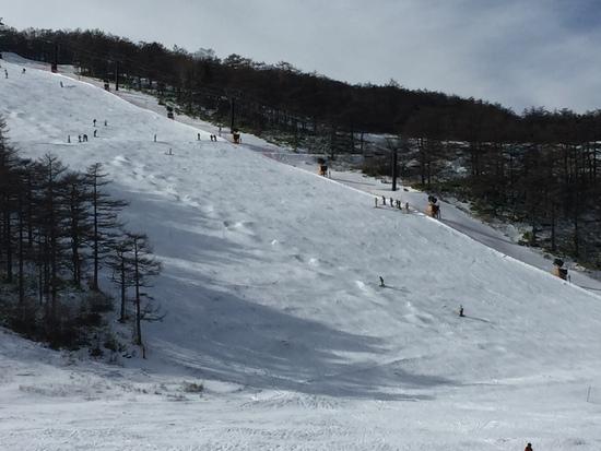 いつもより雪が|アサマ2000パークのクチコミ画像