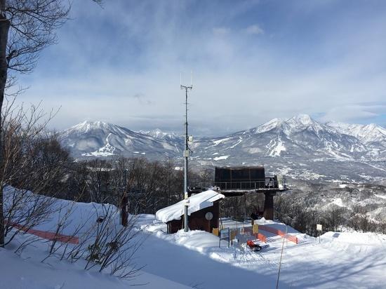 野尻湖と妙高山|斑尾高原スキー場のクチコミ画像