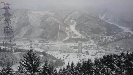 大寒波のおかげでスキー場らしくなった|苗場スキー場のクチコミ画像