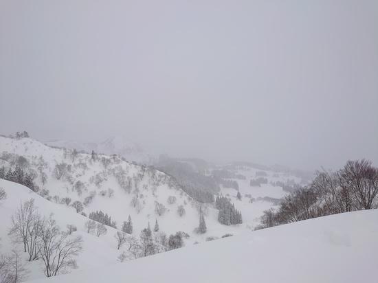 苗場クローズで予定変更で上越国際へ 上越国際スキー場のクチコミ画像
