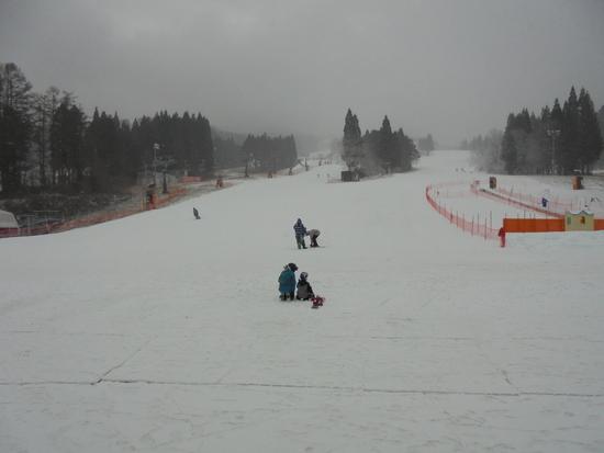 雪不足は否めませんが|鷲ヶ岳スキー場のクチコミ画像