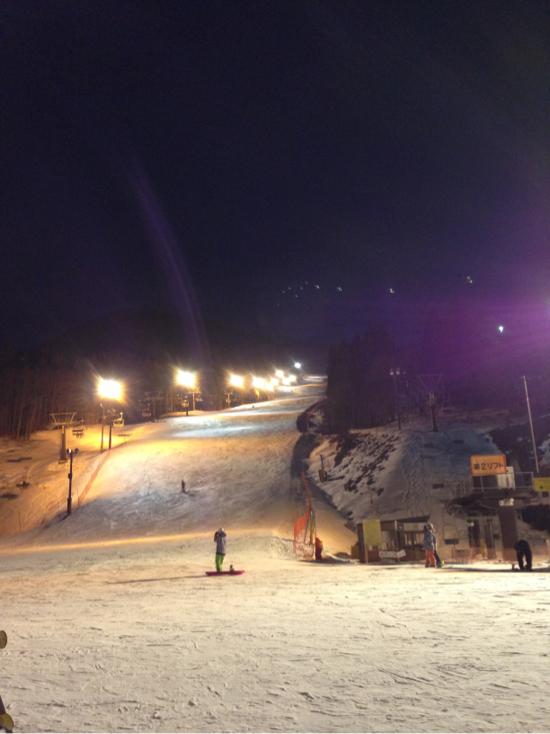 ナイターなのにリフトスタッフが気持ちいいっ!!|ノルン水上スキー場のクチコミ画像