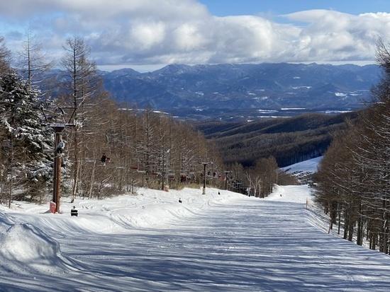 空いてました|八千穂高原スキー場のクチコミ画像
