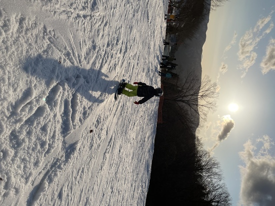 夕暮れのゲレンデ|グランスノー奥伊吹(旧名称 奥伊吹スキー場)のクチコミ画像1
