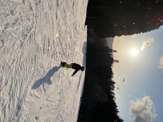 夕暮れのゲレンデ|グランスノー奥伊吹(旧名称 奥伊吹スキー場)のクチコミ画像2