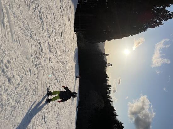 夕暮れのゲレンデ|グランスノー奥伊吹(旧名称 奥伊吹スキー場)のクチコミ画像3