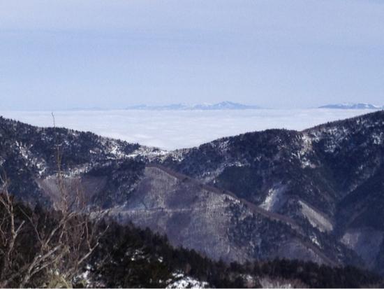 雲海がきれいでした。|信州松本 野麦峠スキー場のクチコミ画像