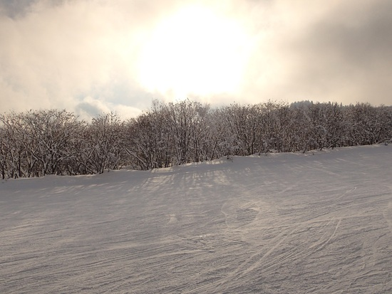 早朝の妙高山に|池の平温泉スキー場のクチコミ画像