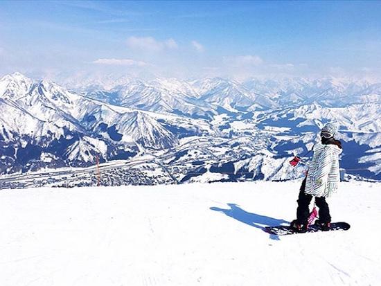 父が撮る嫁入り前の娘|石打丸山スキー場のクチコミ画像