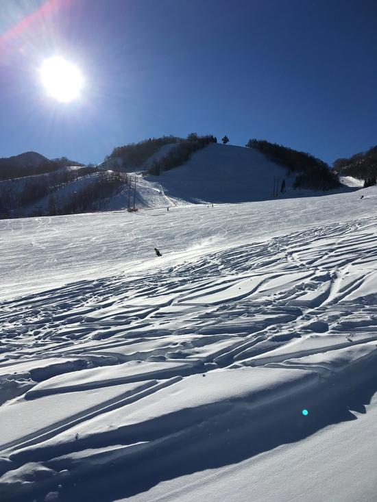 快晴!! 飛騨ほおのき平スキー場のクチコミ画像